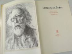 AUGUSTUS JOHN RA single volume of 'Fifty-Two Drawings' - introduction by Lord David Cecil, printed