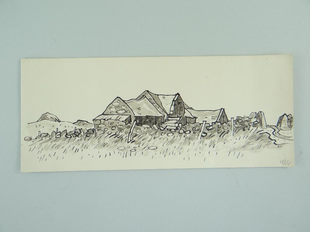 SIR KYFFIN WILLIAMS RA thirteen greeting cards or similar - various typical subject matter including - Image 5 of 18