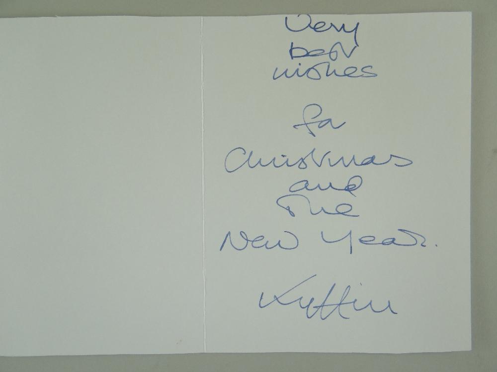 SIR KYFFIN WILLIAMS RA thirteen greeting cards or similar - various typical subject matter including - Image 16 of 18