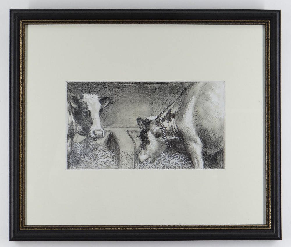 CHARLES FREDERICK TUNNICLIFFE OBE RA (1901-1979) pencil and tint - five illustrations of mid 20th - Image 11 of 11
