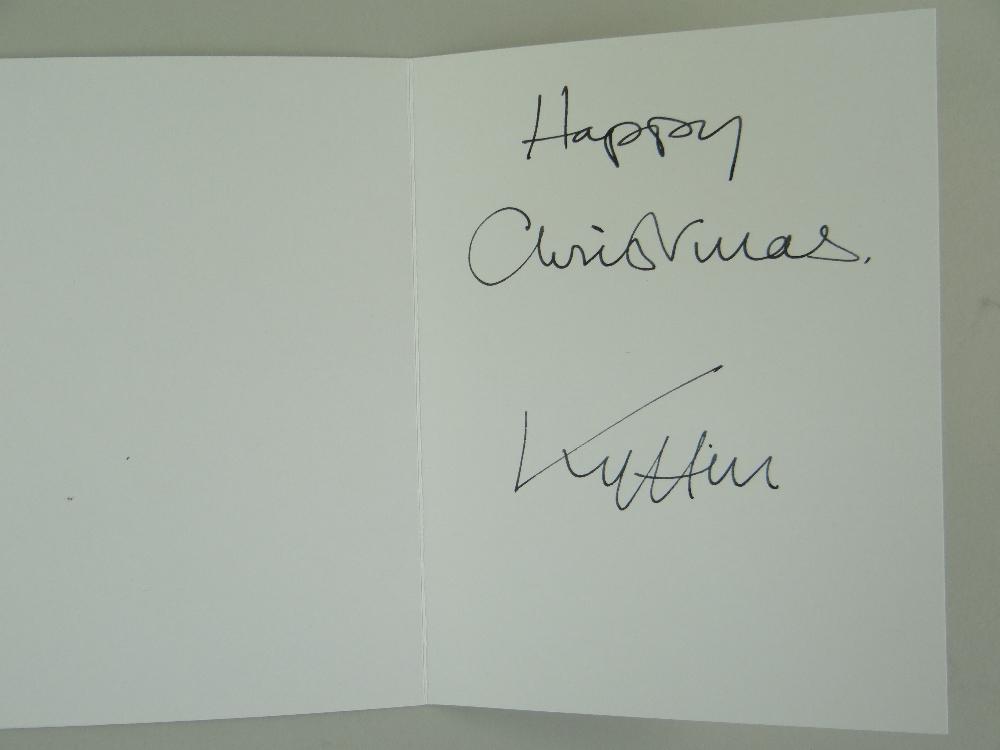 SIR KYFFIN WILLIAMS RA thirteen greeting cards or similar - various typical subject matter including - Image 12 of 18
