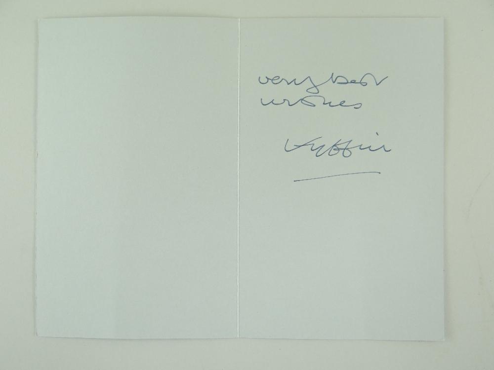 SIR KYFFIN WILLIAMS RA thirteen greeting cards or similar - various typical subject matter including - Image 8 of 18