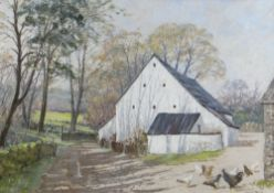 DAVID PRICE pastel - entitled verso on Attic Gallery Swansea label 'On a Sunny Afternoon', signed,
