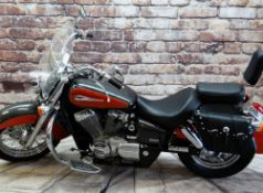 2010 HONDA SHADOW VT750 CS-A MOTORCYCLE CRUISER , reg. WN60 WVM, only 1,699 miles, in two tone
