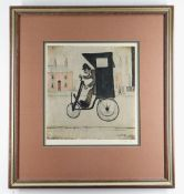 LAURENCE STEPHEN LOWRY R.A. (British, 1887-1976) limited edition (of 750) colour lithograph - The