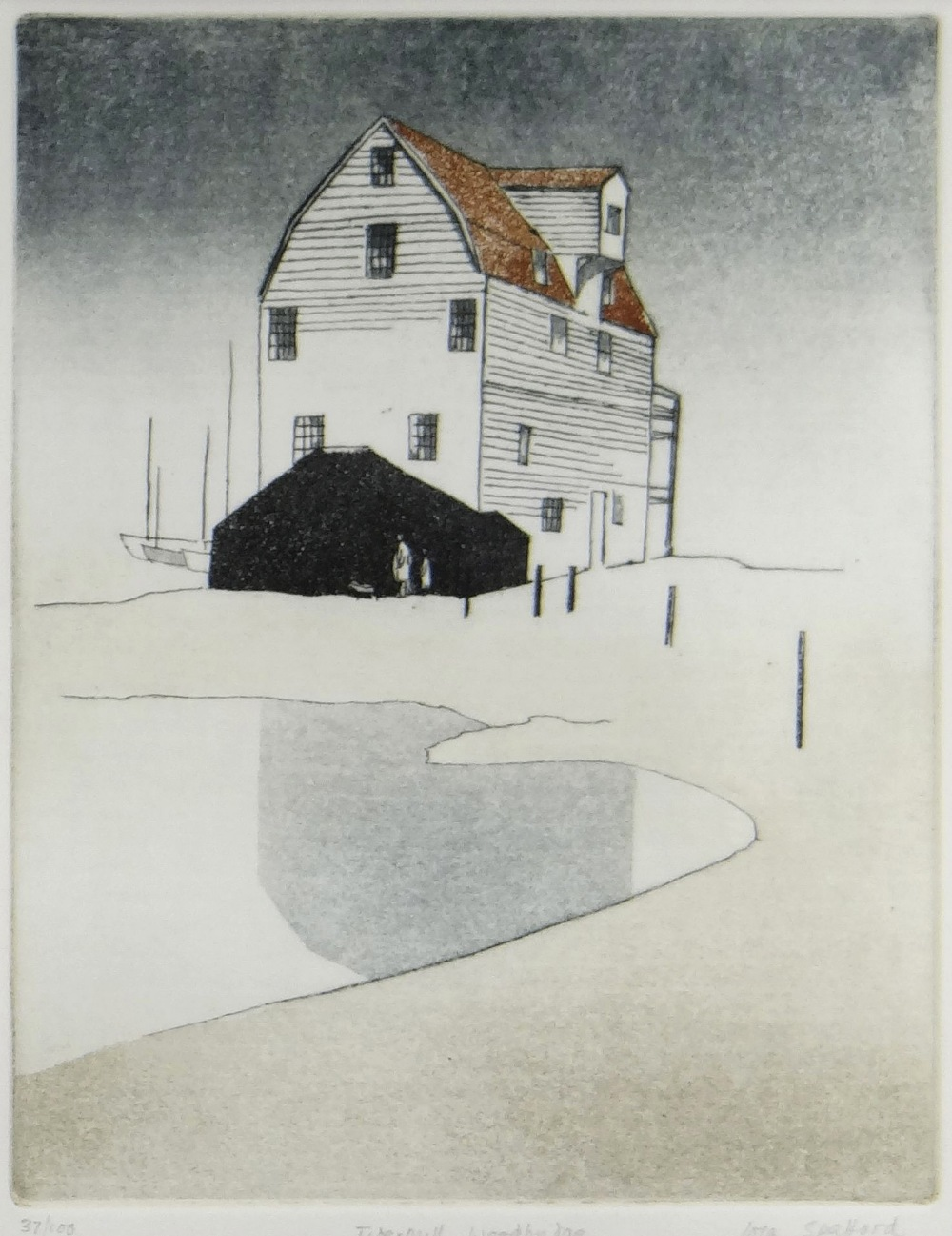 IOLA SPAFFORD two limited edition (37/100) & (21/75) colour etchings - title in pencil to margin ' - Image 2 of 5