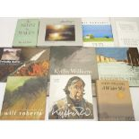 SIR KYFFIN WILLIAMS & OTHER WELSH ARTIST REFERENCE BOOKS & CATALOGUES (9) to include Gwladfa Kyffin,