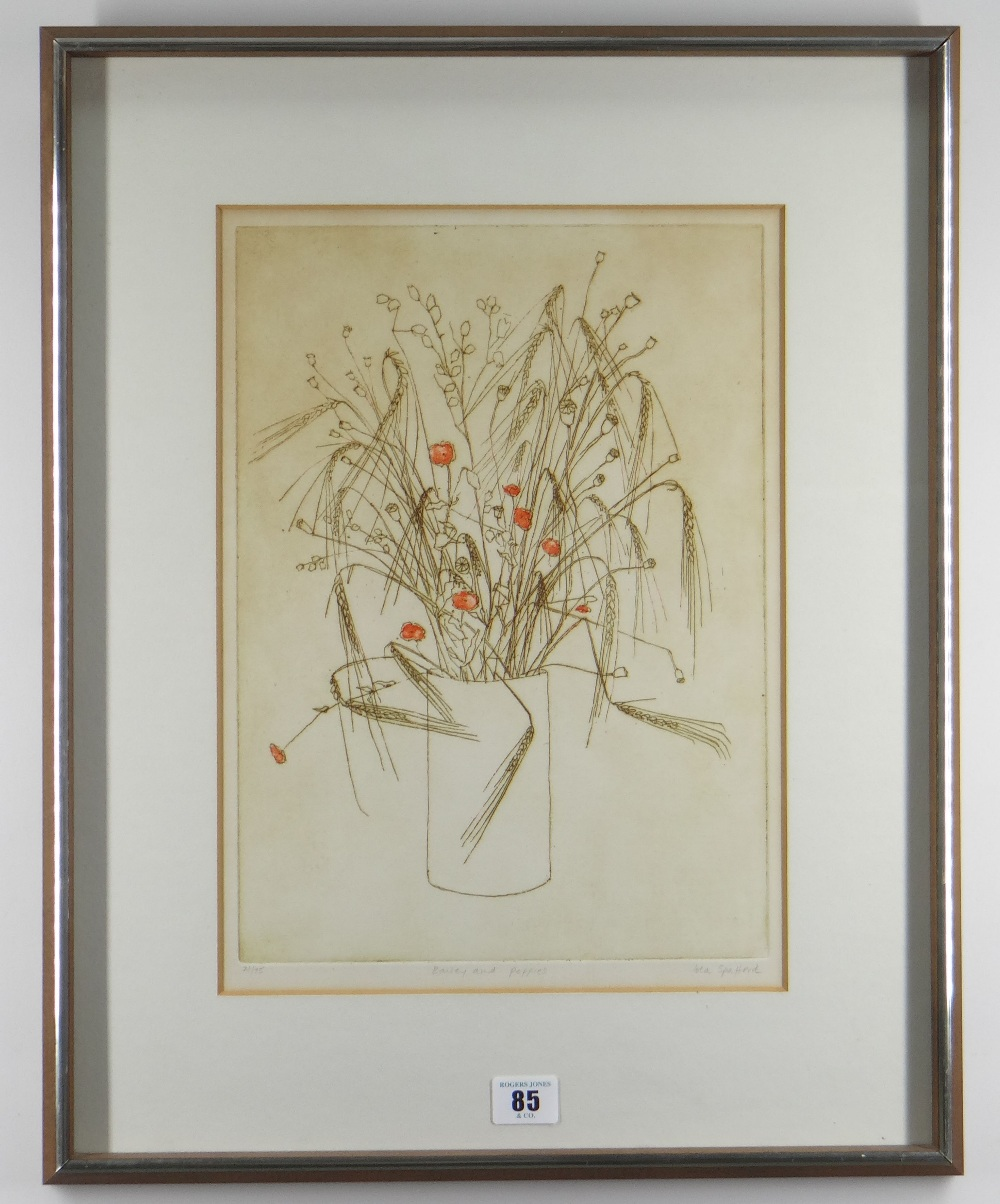 IOLA SPAFFORD two limited edition (37/100) & (21/75) colour etchings - title in pencil to margin ' - Image 5 of 5