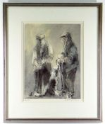 WILLIAM SELWYN limited edition (44/300) colour print - The Conversation, signed and numbered in
