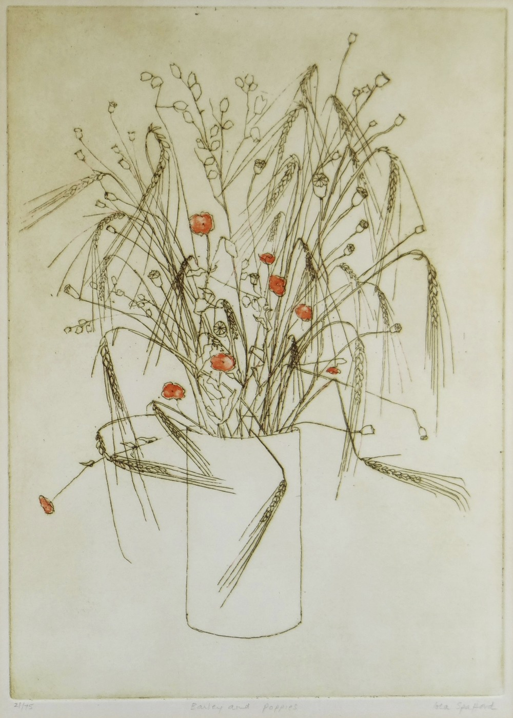 IOLA SPAFFORD two limited edition (37/100) & (21/75) colour etchings - title in pencil to margin ' - Image 4 of 5