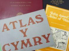 ATLAS CENEDLAETHOL CYMRU (THE NATIONAL ATLAS OF WALES) edited by Emeritus Professor H Carter in a