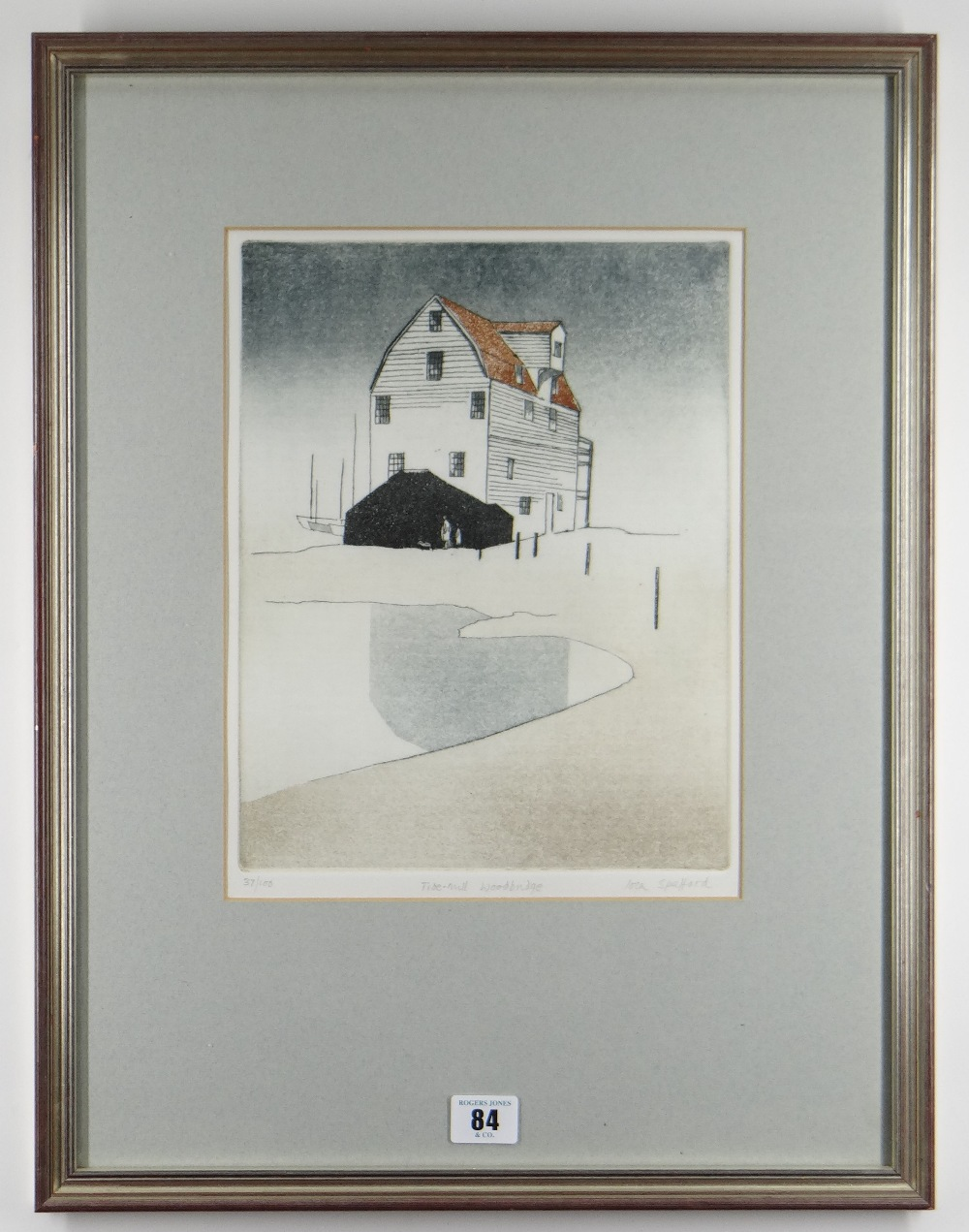 IOLA SPAFFORD two limited edition (37/100) & (21/75) colour etchings - title in pencil to margin ' - Image 3 of 5