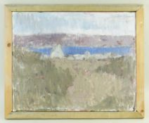 GORDON STUART oil on canvas - landscape, signed, 40 x 50cms NB: Located for viewing / collection
