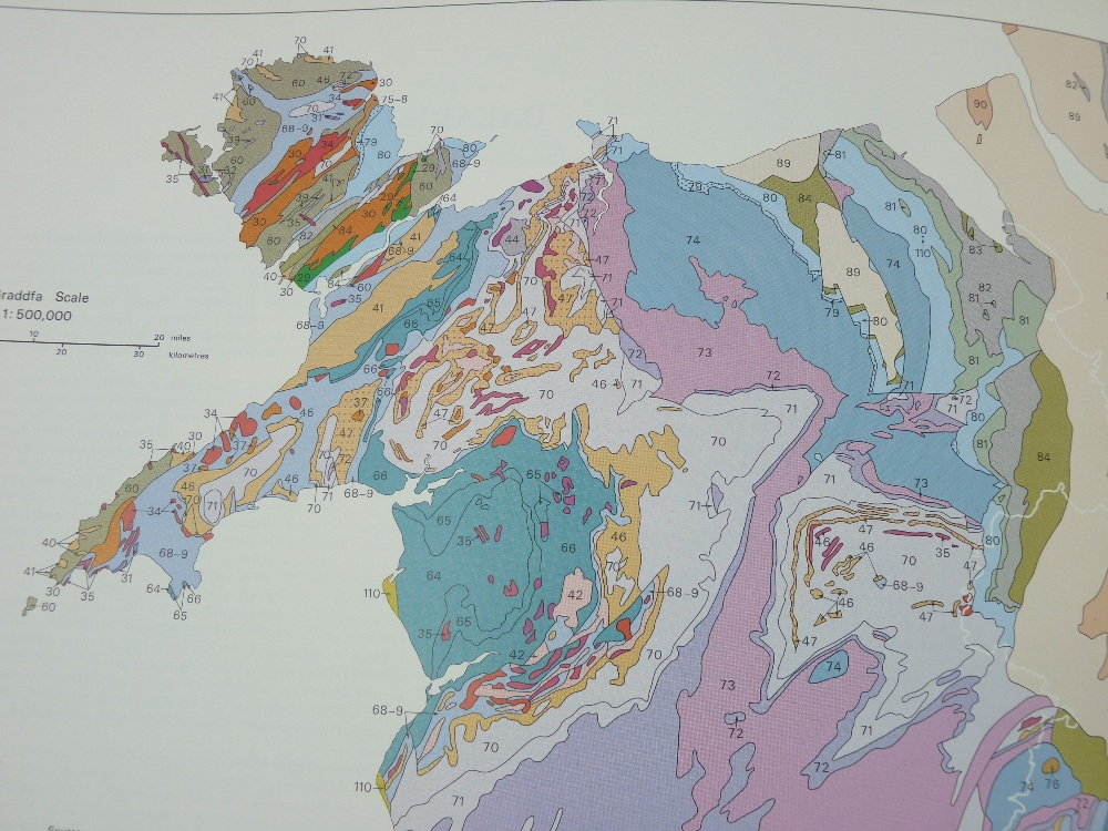 ATLAS CENEDLAETHOL CYMRU (THE NATIONAL ATLAS OF WALES) edited by Emeritus Professor H Carter in a - Image 5 of 17