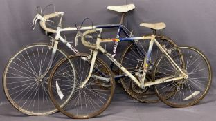 RALEIGH RACER BICYCLES (2) including a gent's Winner and a boy's Flyer, 92cms H, 165cms L and