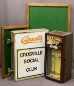 PUB STUFF/EX CROSVILLE SOCIAL CLUB - a vintage Ansells illuminated sign, 80.5cms H, 67cms W
