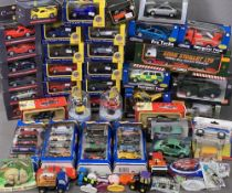 DIECAST MODEL VEHICLES - bubble packed, 1:43 'Superwheels', Shell Collection, Hotwheels, a large