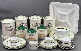 CONTEMPORARY TABLEWARE 'MANHATTAN' from Marks & Spencer, approximately twenty pieces, other modern