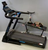 FITNESS EQUIPMENT - JTX 'Cushion Step' treadmill and other fitness equipment E/T