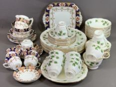 STAFFORDSHIRE TEAWARE - including Colclough 'Green Ivy'