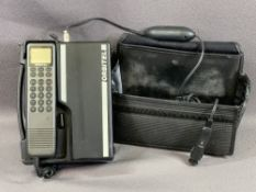 ORBITELL OLD MOBILE PHONE with cradle, case and charger