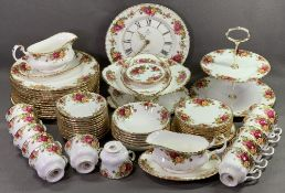 ROYAL ALBERT 'OLD COUNTRY ROSES' TEA & TABLEWARE, approximately sixty five pieces