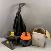 TOOLS - McCulloch 750w vac and a Coopers Wet 'n' Dry vac E/T