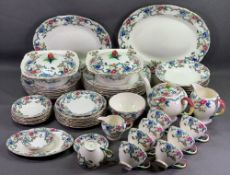 ROYAL CAULDON 'VICTORIA' TABLEWARE, approximately fifty pieces