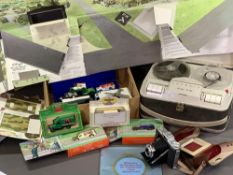 COLLECTABLES - Grundig TK14 reel to reel player, Yorkshire Tea 'Heartbeat' commemorative models,