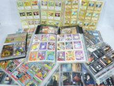 POKEMON COLLECTOR'S CARDS in binders, also many others including 'Nintendo Creatures', 'Scooby Doo',