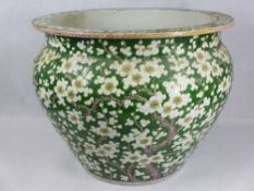 AMENDED DESCRIPTION - 19TH CENTURY CHINESE LARGE PLANTER -