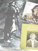 SIR KYFFIN WILLIAMS RA print - a farmer, by courtesy of Iowan and Margaret Bowen-Rees, unframed,