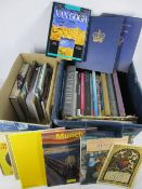 MIXED ART & ANTIQUE REFERENCE BOOKS - Victoria and later souvenir and commemorative books (within