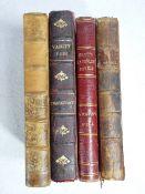 ANTIQUARIAN BOOKS (4) - 'The Spectator', 7th Volume 1767, 'St Ronan's Well' by Scott Black 1863, '