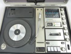 SANYO 'JAMES BOND 007' portable music centre in a briefcase