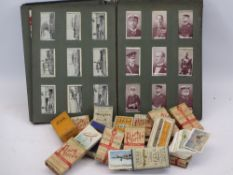 CIGARETTE CARDS COLLECTION including quantities in original cigarette boxes