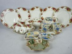 ROYAL ALBERT OLD COUNTRY ROSES, MASONS PLANTATION COLONIAL, and other tea and dinnerware