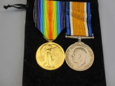 WW1 WAR MEDALS (2) - awarded to 124679. No 3. A.M. A C Williams RAF to include the 1914-18 British