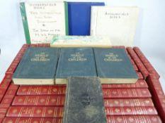 BOOKS - Encyclopaedia Britannica Set, old bibles, volumes of 'The World of Children'. Also, ephemera
