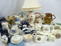 MASONS MANDARIN, GAUDY WELSH, RIBBON PLATES and other collectable china and teaware (in three