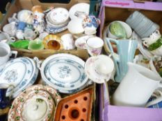 VICTORIAN & LATER ORNAMENTAL CHINA, dinner and teaware including Queens 'Virginia Strawberry',