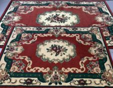 MODERN RUGS (2) - Chinese designs, 160 x 230cms and 120 x 160cms