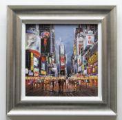 HENDERSON CISZ hand embellished limited edition (63/295) giclee print on canvasboard - entitled '