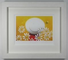 DOUG HYDE limited edition (91/395) giclee print on paper - entitled verso 'Spring Smiles', signed