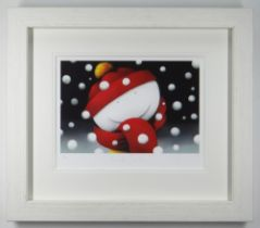 DOUG HYDE limited edition (91/395) giclee print on paper - entitled verso 'Winter Smiles', signed