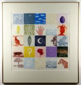 TREVOR PRICE / TIFFANY MCNAB limited edition (68/2000) coloured engraving - titled to margin 'The