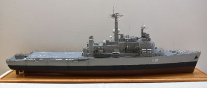 QUALITY LARGE SCALE SHIP MODEL OF HMS FEARLESS 'L10', Fearless-Class Landing Platform Docks (LPD)