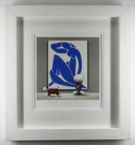 DOUG HYDE limited edition (131/195) giclee print - entitled 'Dogmatic Views About Matisse', signed