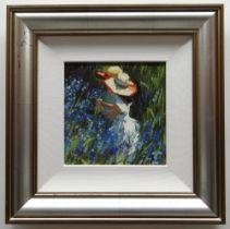 SHERREE VALENTINE DAINES hand embellished limited edition (56/195) giclee print canvas - entitled