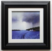 BARRY HILTON embellished limited edition (102/195) giclee print canvas on board - entitled verso '